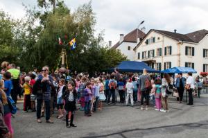 Peseux à l'occasion de la fête des fontaines en 2014