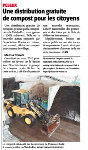 Une distribution gratuite de compost pour les citoyens - L'Express, 12.09.17