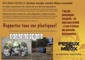 Flyer Rapportez tous vos plastiques
