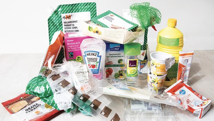 9 emballages en plastique sur 20 finit brûlé en Suisse