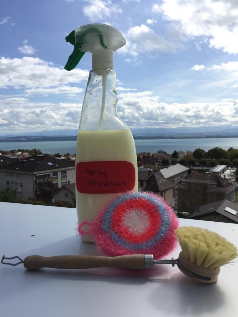 Des produits maison réalisés en un tourne-main et... ouste le plastique à usage unique et autre composés de fabrication indésirables! (Photo: L. Calandra)